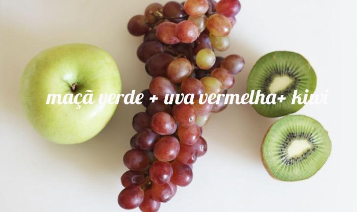 juicing maca uva kiwi